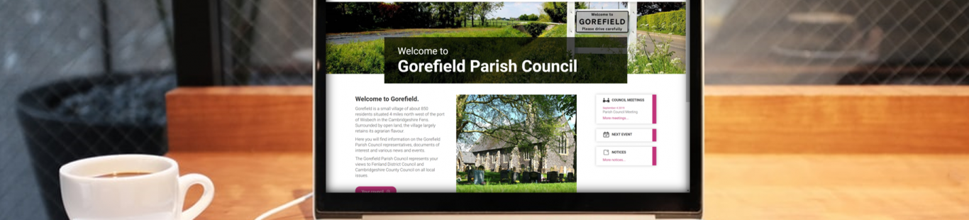 Welcome to the NEW Gorefield Parish Council website!